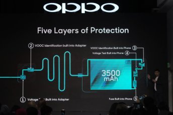 oppo vooc flash charge heat