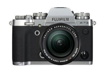 Fujifilm X-T3 silver depan