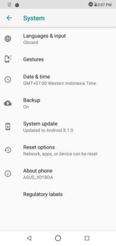 Asus ZenFone Max Pro M2 UI (1)