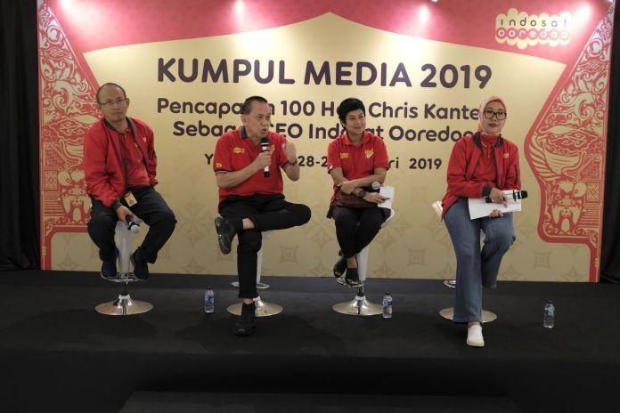 Mengintip Strategi Indosat Menghadapi Tahun 2019 1