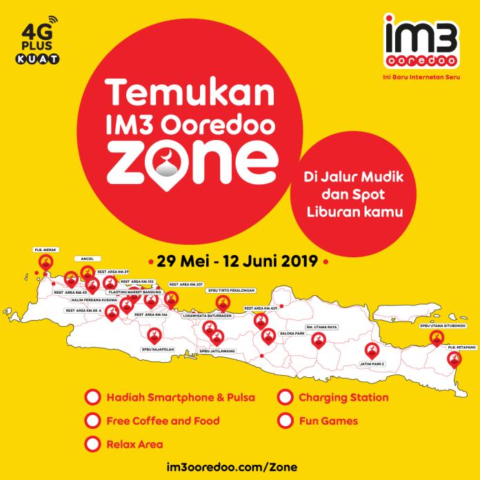 IM3 Siapkan Ooredoo Zone di Sepanjang Jalur Mudik untuk Lebaran 2019 2