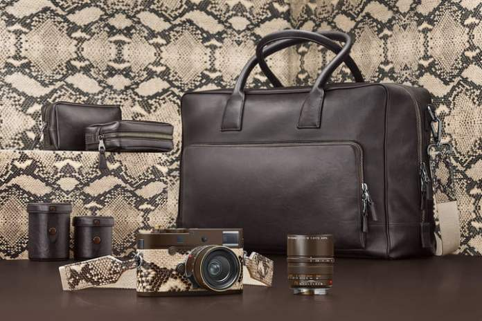Leica M Monochrom Drifter Set: Bodi Berlapis Kulit Ular Piton, Terbatas Hanya 125 Unit 5