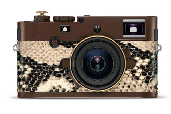 Leica M Monochrom Drifter Set: Bodi Berlapis Kulit Ular Piton, Terbatas Hanya 125 Unit 2