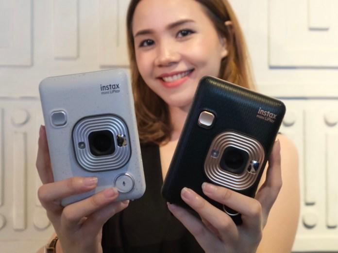 Dijual 2 Jutaan Rupiah, Fujifilm Instax Mini LiPlay Kamera Instan Pertama dengan Fitur Rekam Suara