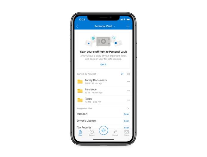 Microsoft OneDrive Hadirkan Personal Vault, Folder Penyimpanan dengan Sistem Keamanan Ekstra