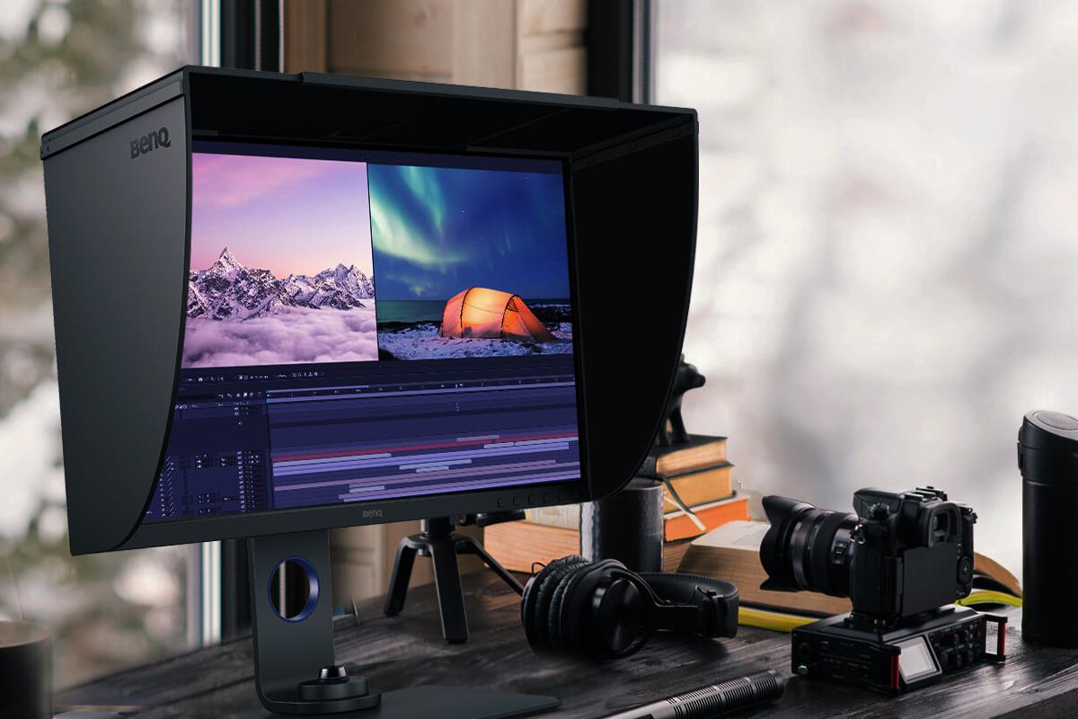 BenQ PhotoVue SW270C: Monitor 27 Inci Kelas Profesional dengan Resolusi 2K dan Mendukung Warna Adobe RGB 99% 11