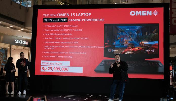 HP Luncurkan OMEN X2S, OMEN 15 dan Pavilion Gaming Terbaru di Indonesia 4
