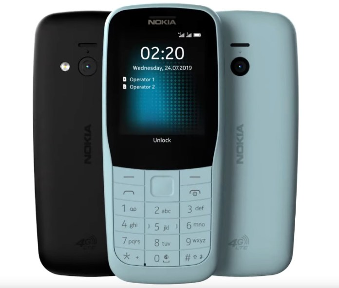 HMD Global Umumkan Kehadiran Nokia 220 4G dan Nokia 105