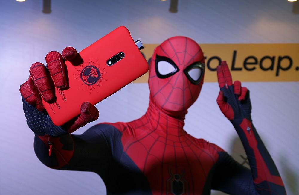 Realme X Spider Man Edition
