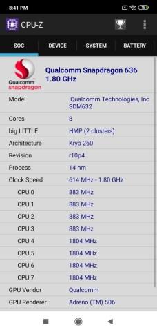 Redmi 7 CPU Z (2)