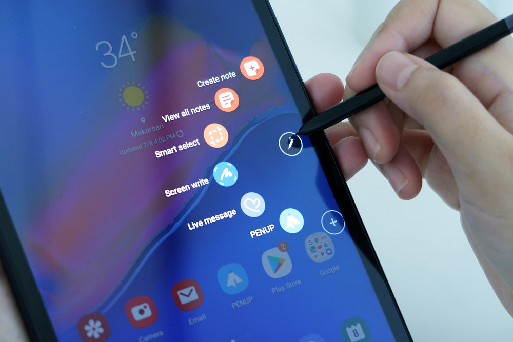 Review Samsung Galaxy Tab A with S Pen: Tablet Android 3 Jutaan dengan Fitur Mirip Galaxy Note 20 android, review, samsung, Samsung Galaxy TAB, samsung Galaxy tab A with S Pen, tablet