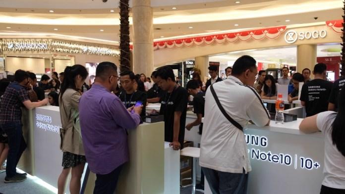 Samsung Gelar Penjualan Perdana Galaxy Note10 dan Note10+ di Indonesia 2