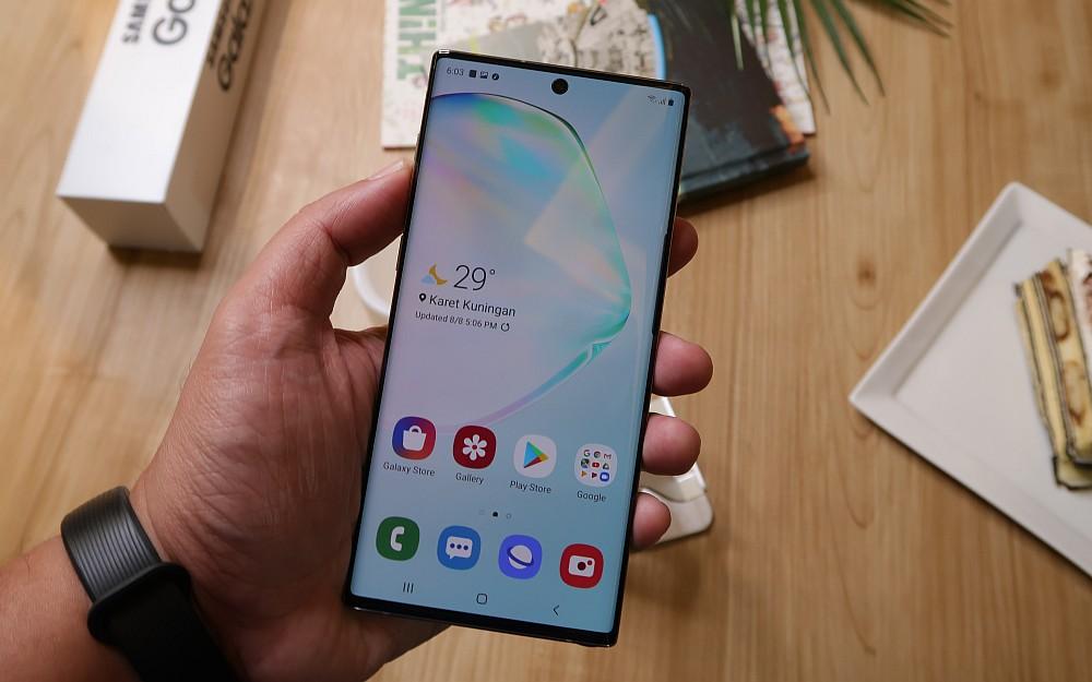 [Hands-On] Kesan Pertama Menggenggam Samsung Galaxy Note10 dan Galaxy Note10+ 12