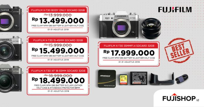 5 Fitur Ini Bikin Fujifilm X-T30 Cocok Banget Bagi Videografer & <em>Content Creator</em> 7