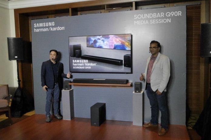 Dijual 24 Jutaan Rupiah, Samsung Harman Kardon Soundbar Q90R Bawa Teknologi Dolby Atmos Sekelas Bioskop