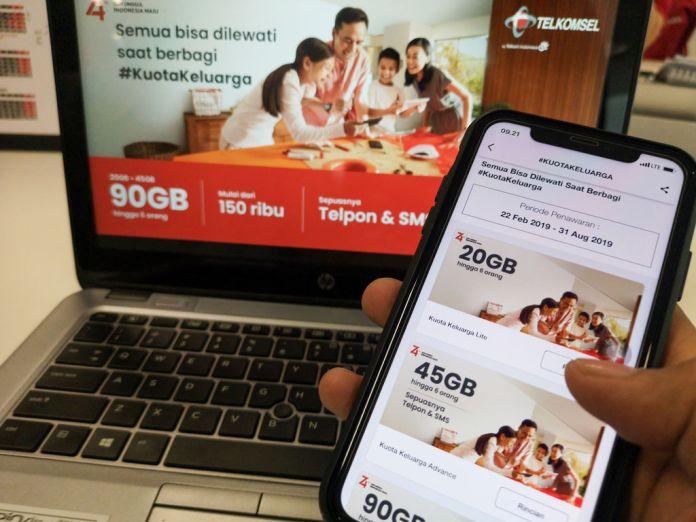 Telkomsel Kuota Keluarga: Paket Internet Lebih Hemat Bagi Anggota Keluarga