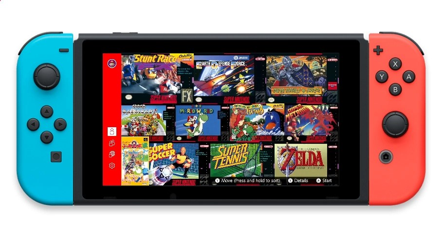 SNES Games Switch