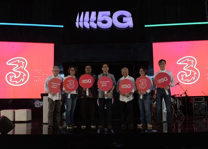 Tri Gelar Uji Coba 5G di Surabaya 1