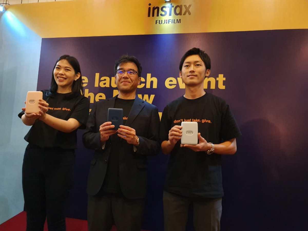 Foto Peluncuran Fujifilm Instax Mini Link