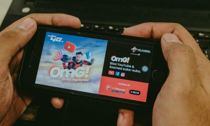 Telkomsel Luncurkan Paket OMG! dengan Kuota Khusus YouTube dan Media Sosial