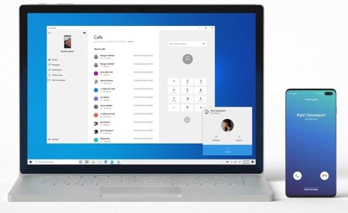 Microsoft Tambah Fitur Panggilan Telepon Lewat PC di Aplikasi Your Phone 1