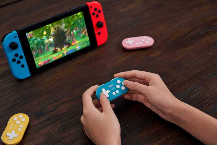 8BitDo Zero 2: Controller Nirkabel Mungil untuk Nintendo Switch