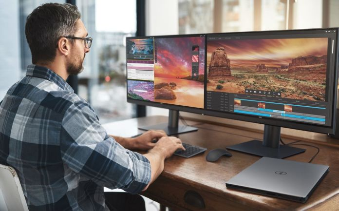 Dell UltraSharp 27 4K PremierColor Monitor (UP2720Q): Monitor Pertama di Dunia dengan Colorimeter dan Thunderbolt 3