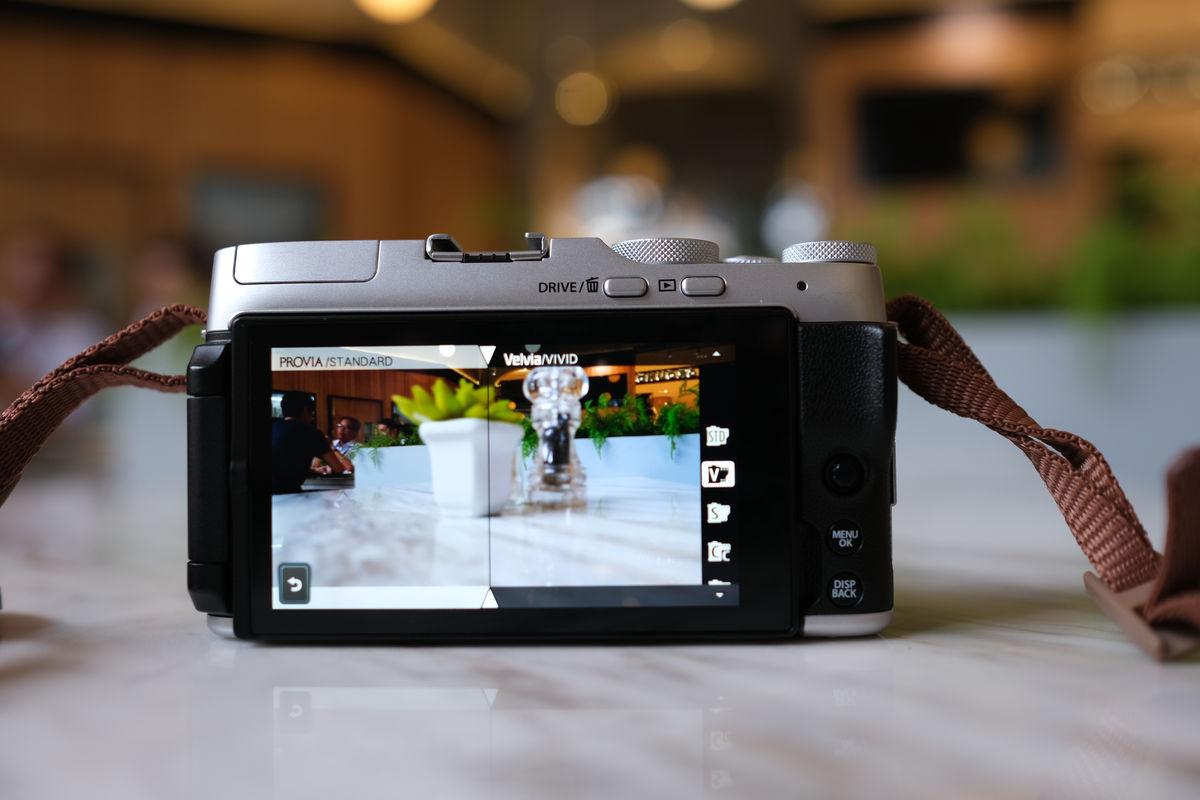 Fujifilm X A7 film simulation