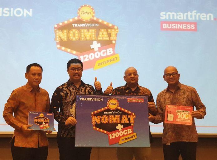 Smartfren dan Transvision Luncurkan Paket Nonton Hemat Plus Kuota 100 GB