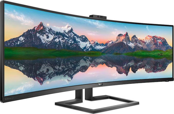 Philips Brilliance 439P9H: Monitor 4K Lengkung 43 Inci dengan Warna yang Akurat