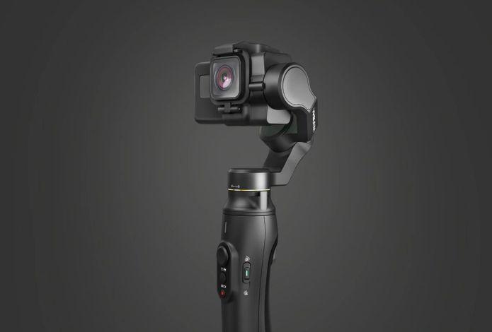 Feiyu Vimble 2A: Gimbal 3-Axis Khusus untuk Kamera Aksi, Bisa Dipanjangkan Hingga 18cm