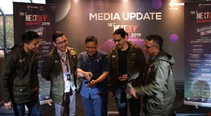 "Telkomsel Gelar NextDev Summit 2019 dengan Tema ""Spark TheChange"" 1"