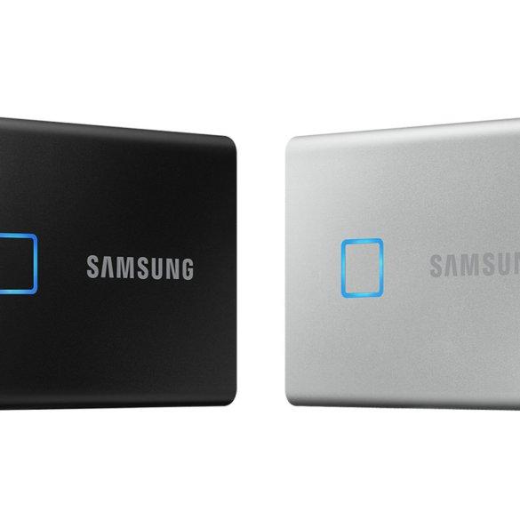 [CES 2020] Samsung Perkenalkan T7 Touch, SSD Portable dengan Sensor Sidik Jari 10