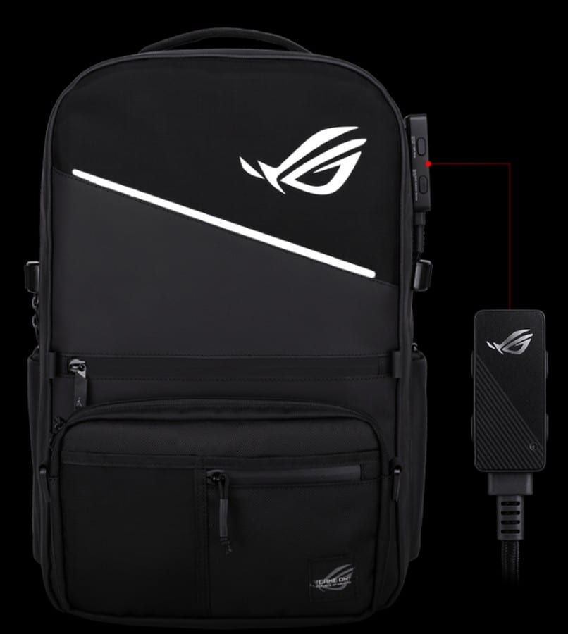 Asus ROG Ranger BP3703 Gaming Backpack: Tas Modular dengan Lampu RGB dan One-Touch Controller 19 asus, asus ROG, Asus ROG Ranger BP3703 Gaming Backpack, backpack, gaming, tas
