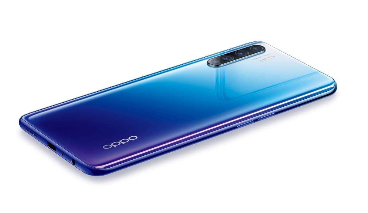 OPPO Reno3 Blue