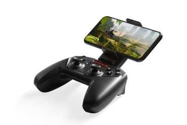 SteelSeries Nimbus+: Gaming Controller untuk iPhone dengan Baterai 50 Jam 14 aksesori, Apple, gaming, iPhone, smartphone, SteelSeries