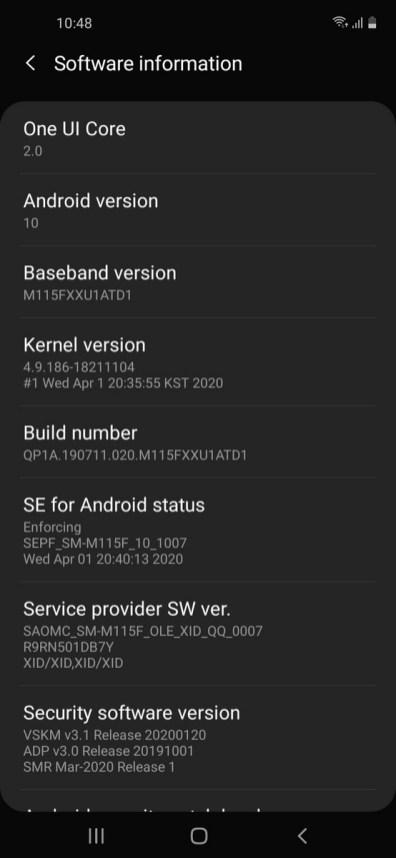 Galaxy M11 OneUI (1)