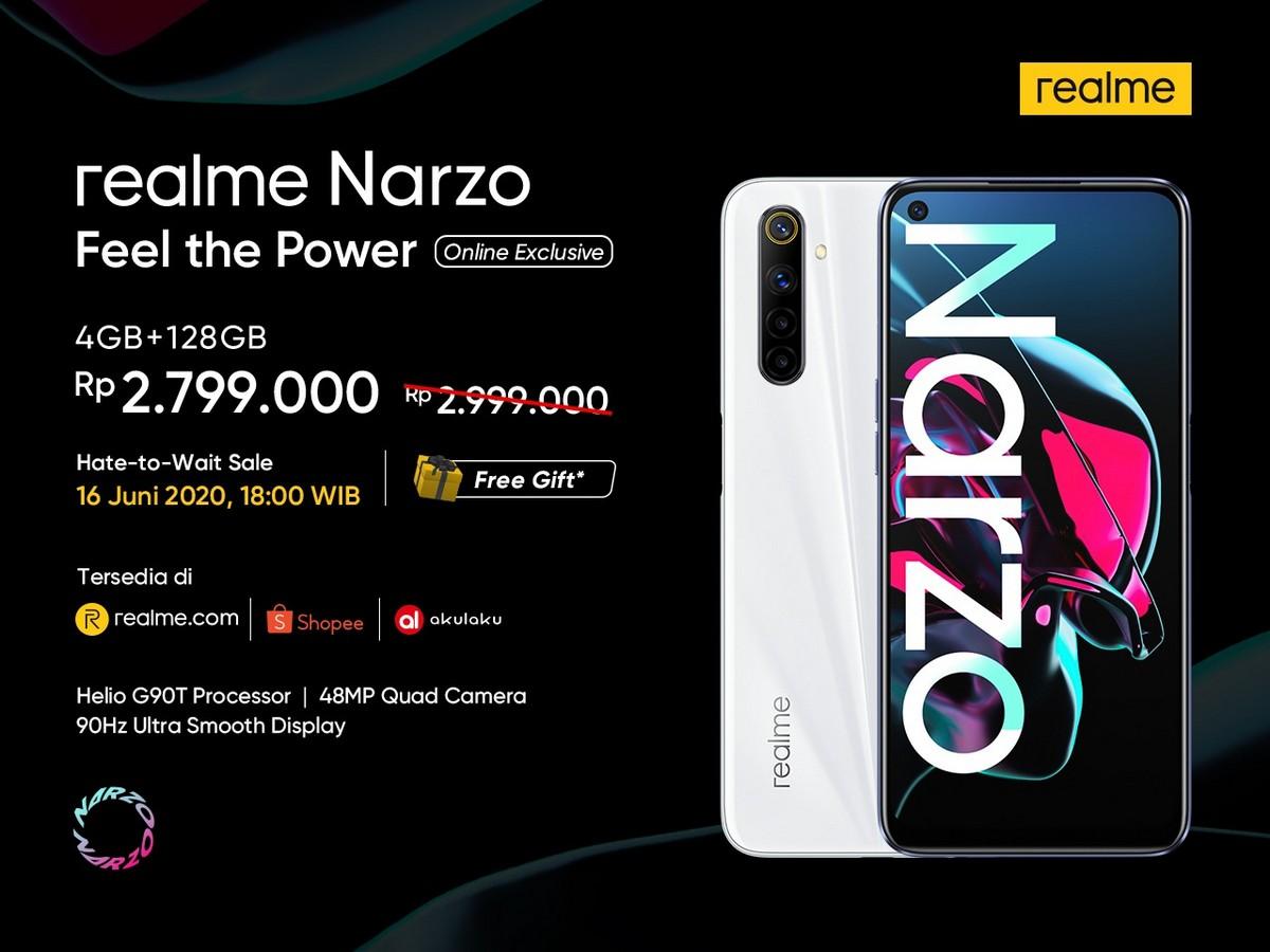 Harga realme Narzo