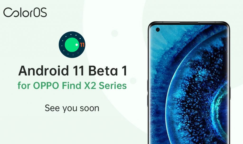 OPPO Find X2 Android 11 Beta