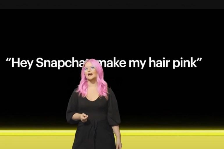snap pink