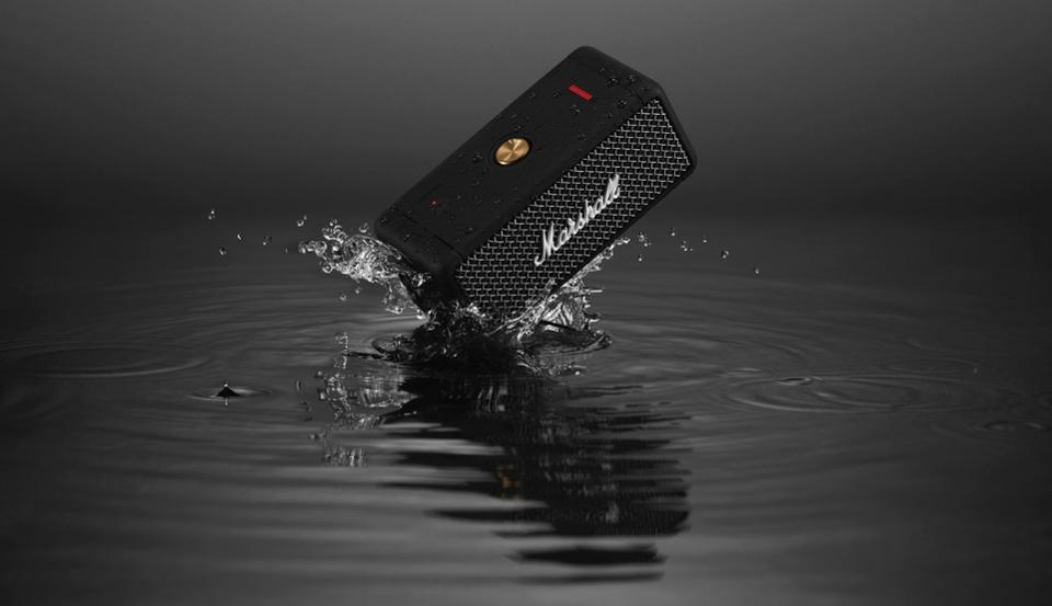 Marshall Emberton: Bluetooth Speaker Anti Air dengan Audio ...