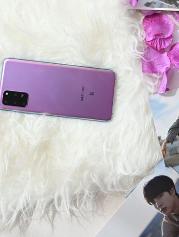 Samsung Galaxy S20 BTS Edition and Buds BTS Edition