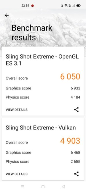 realme X3 SuperZoom 3D Mark