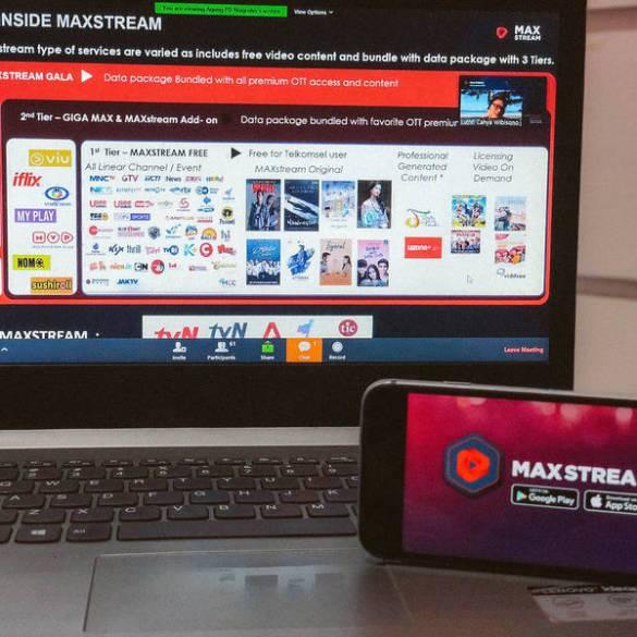 telkomsel maxstream agustus 2020