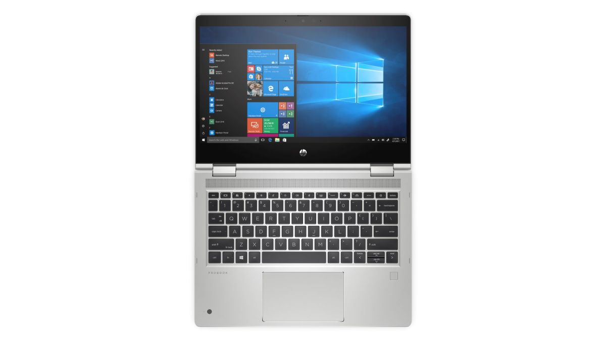 Foto 1.4 HP ProBook x360 435 G7 Flat Mode