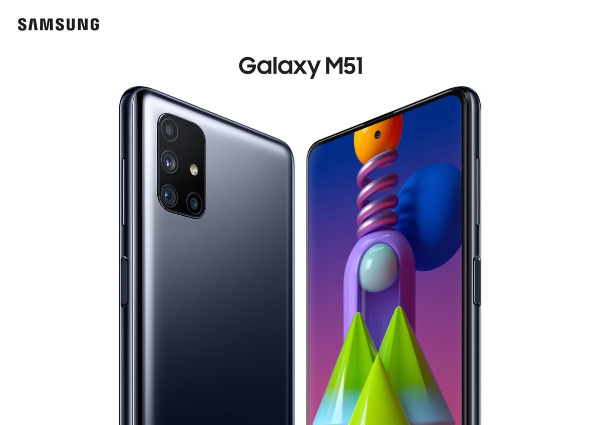 Samsung Galaxy M51 black