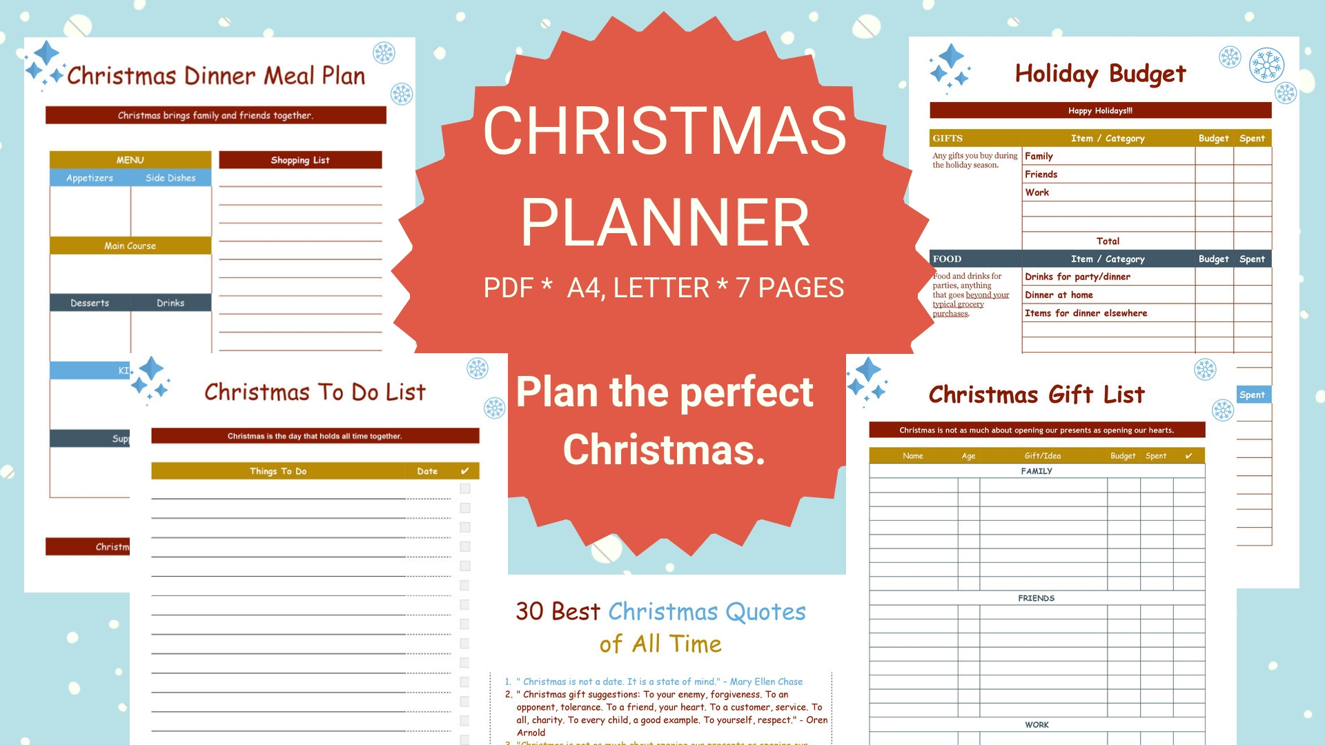Christmas Planning A Stress Free And Organized Holiday