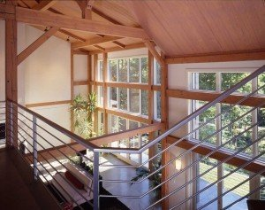 The Timber Frame Goes Modern