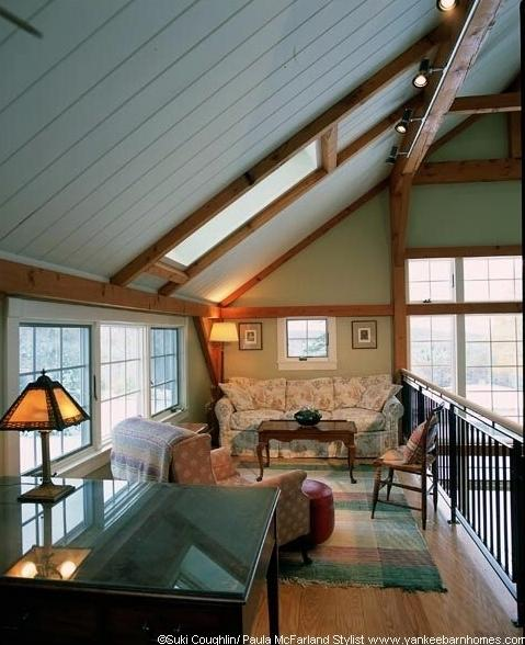Yankee Barn Homes Builds Stunning Post and Beam Additions