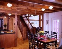 Barn House Staircase Ideas complete with photos